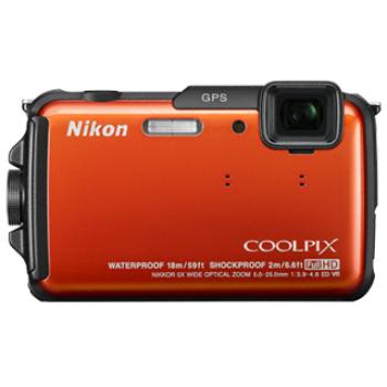 Компактная фотокамера NIKON COOLPIX AW110 Orange