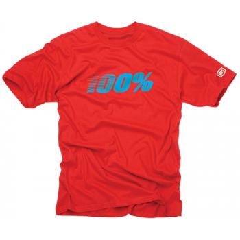 Футболка 100% Vintage Tee Shirt Red