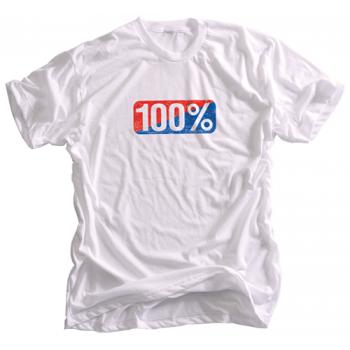 Футболка 100% Vintage Tee Shirt White