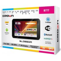 CROWN B777 3G DUAL SIM BLACK