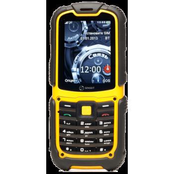 Сотовый телефон Senseit P3 Black / Yellow