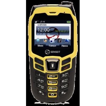 Сотовый телефон Senseit P8 Black / Yellow