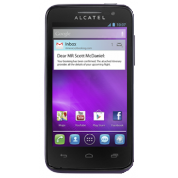 Сотовый телефон ALCATEL ONE TOUCH M'POP 5020D Aubergine
