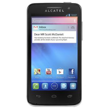 Сотовый телефон ALCATEL ONE TOUCH M'POP 5020D White