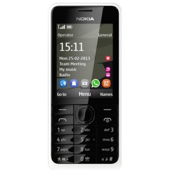 Сотовый телефон NOKIA 301 White
