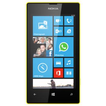 Смартфон NOKIA LUMIA 520 Yellow (EUROTEST)