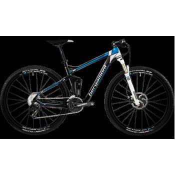 Велосипед горный BERGAMONT FASTLANE TEAM (2012) CARBON/WHITE/BLUE (MATT)