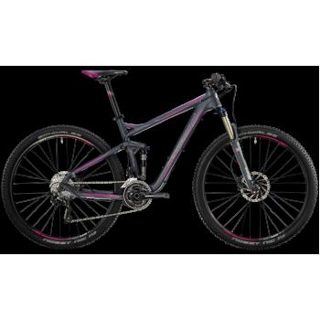 Велосипед горный BERGAMONT CONTRAIL 6.4 FMN (2014) GREY / PURPLE / WHITE (MATT)