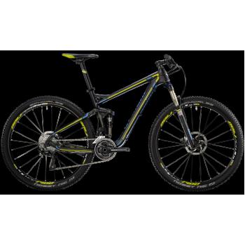 Велосипед горный BERGAMONT CONTRAIL LTD (2014) BLACK / CYAN / LIME (MATT)
