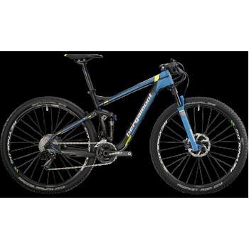 Велосипед горный BERGAMONT FASTLANE TEAM (2014) CARBON / CYAN / NEON YELLOW / WHITE (MATT)