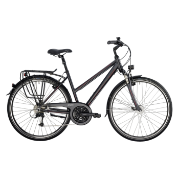 Велосипед туристический BERGAMONT SPONSOR LADY (2014) GREY / RED / BLACK (MATT)