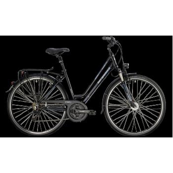 Велосипед туристический BERGAMONT SPONSOR TOUR SUSP. AMST. (2014) BLACK / CYAN / WHITE (MATT)