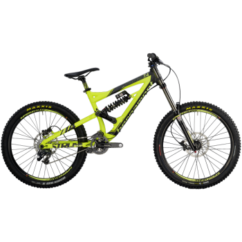 Велосипед горный BERGAMONT STRAITLINE 7.4 (2014) NEON YELLOW / BLACK (MATT)