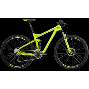 Велосипед горный BERGAMONT CONTRAIL 6.4 (2014) LIME / CYAN / GREY (MATT)