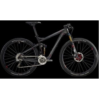 Велосипед горный BERGAMONT FASTLANE MGN (2014) CARBON / RED / GREY (MATT)